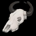 Large Skull by TarkeeTales