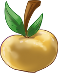 Golden Cherry Apple by TarkeeTales