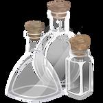 Clear Bottles by TarkeeTales