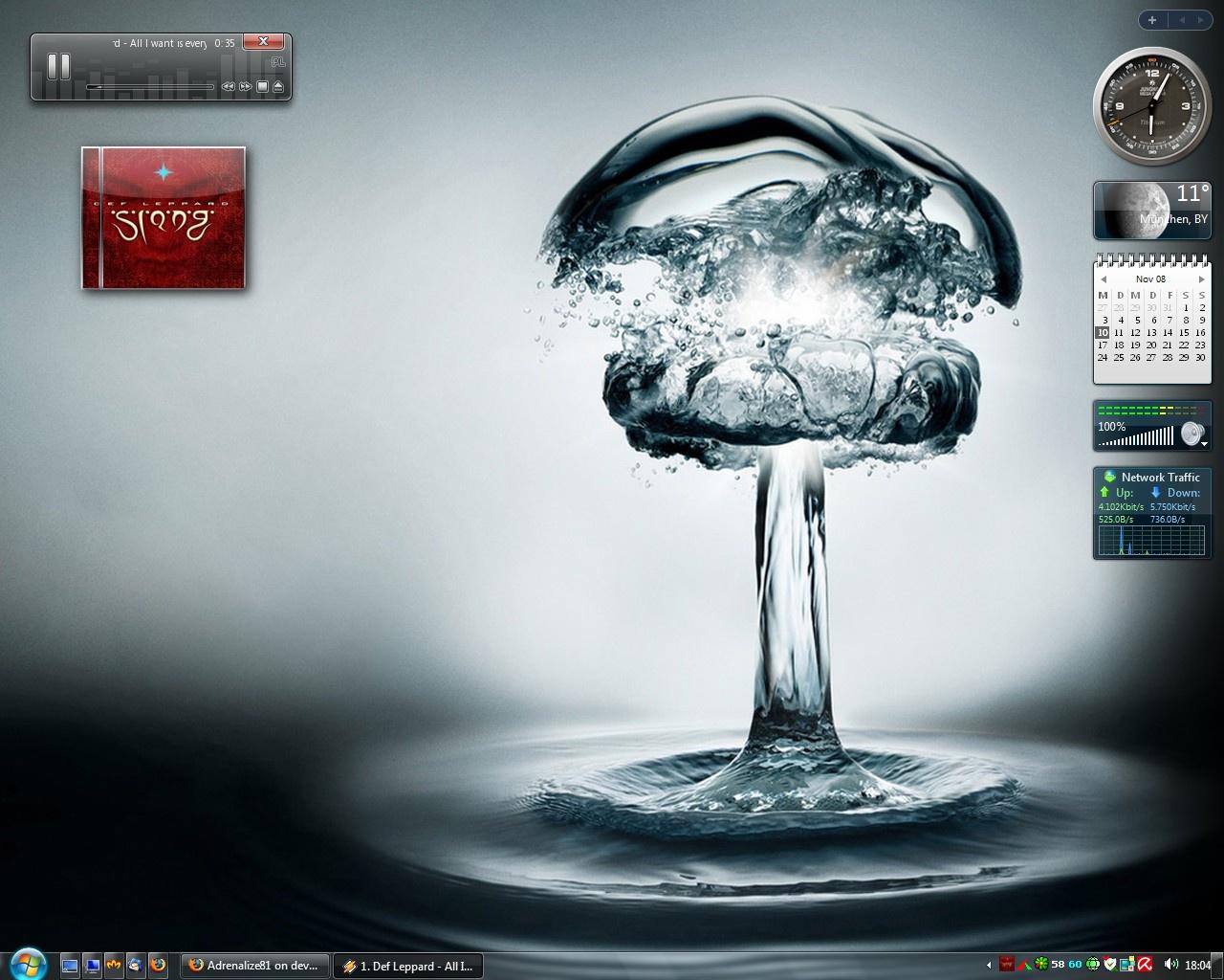 Screenshot Waterbomb Windows 7