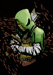 Darkest Dungeon   Leper By Darkmechanic by LaytonMaes