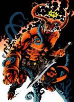 hellboy by francesco biagini