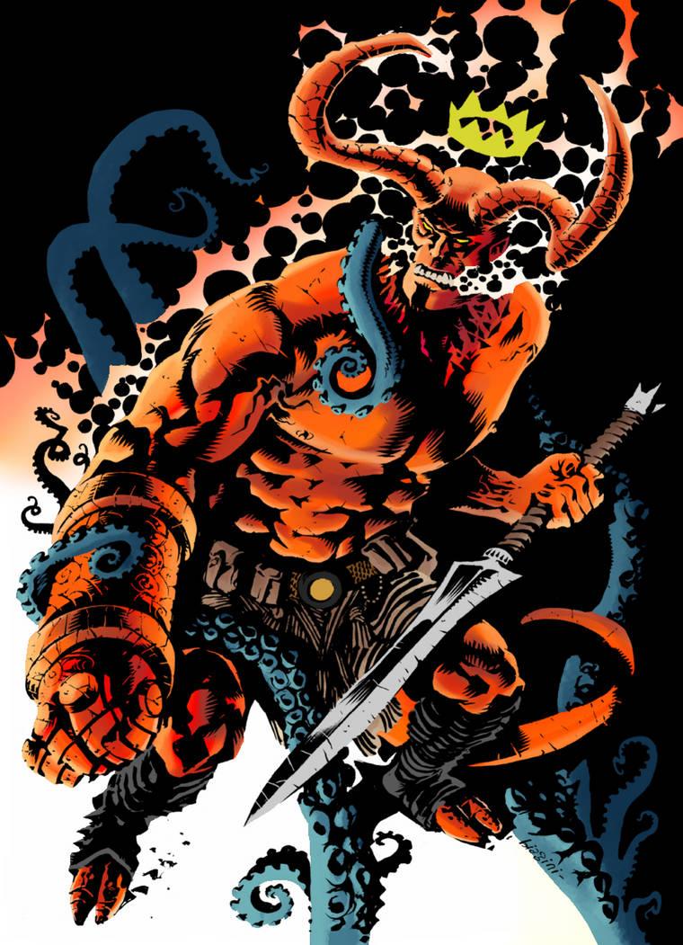 hellboy by francesco biagini by LaytonMaes