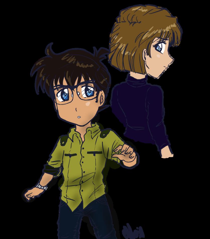 Conan and Ai by SandraSandra11
