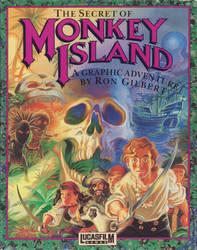 Monkey Island 1 clean-cover B by Plamdi