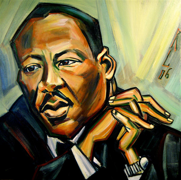 Martin Luther King Jr. by rayebones