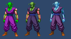 Piccolo Standing Sprite (extreme butoden) by DivineSprites