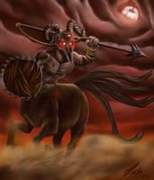 Berserker Centaur by Hunchy