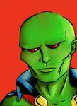 Justice:Martian Manhunter by Hunchy