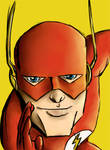 Justice: The Flash by Hunchy