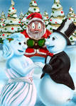 2016 Xmas Card: Holiday Vows by Hunchy