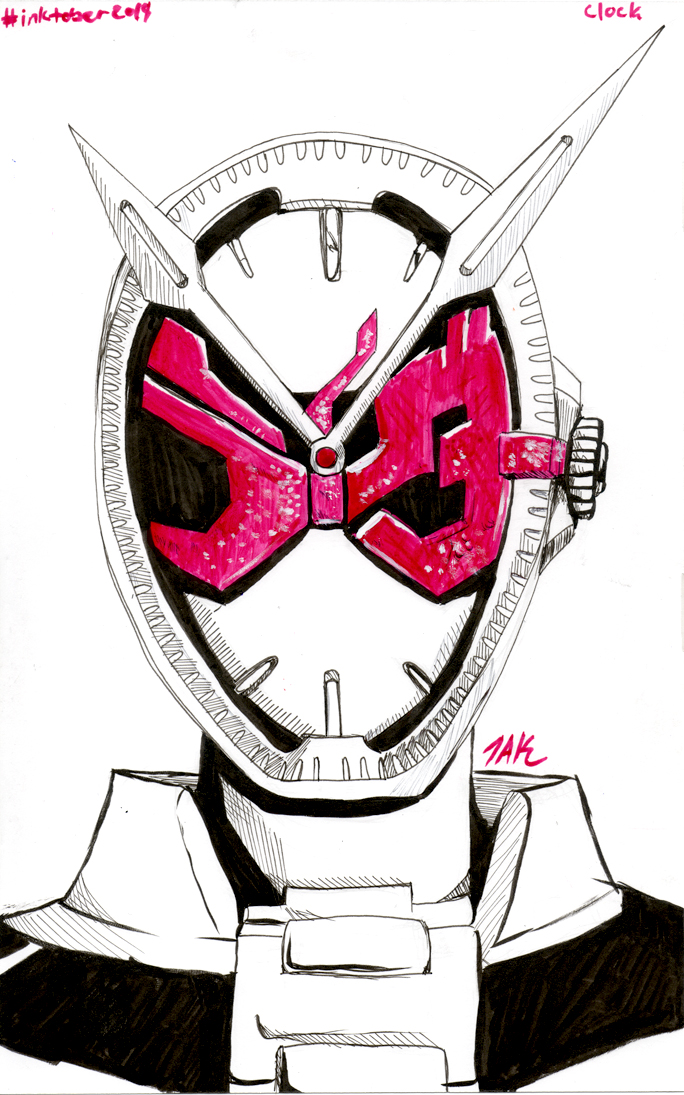 Daily Sketch: Clock by Hunchy