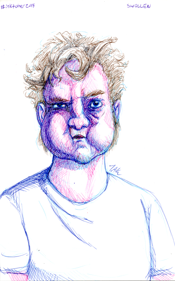 Daily Sketch: Swollen by Hunchy