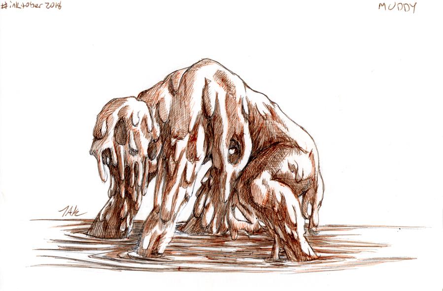 Daily Sketch: Muddy by Hunchy