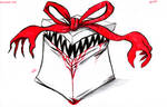 Daily Sketch: Gift by Hunchy