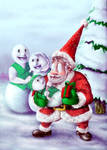 Meeting Santa by Hunchy