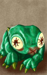 Daily Sketch: Baby Glignor by Hunchy