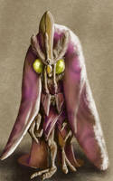Daily Sketch: Royal Vizier by Hunchy