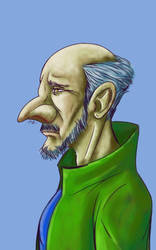 Daily Sketch: Uncle Pistachio by Hunchy