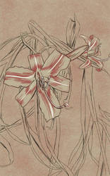 Daily Sketch: Set of Lilies by Hunchy