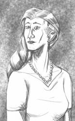 Daily Sketch: Mrs. Marstell