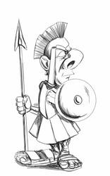 Daily Sketch: Centurion