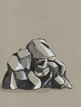 Daily Sketch: Stone
