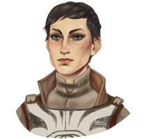 Seeker of truth Cassandra Pentaghast by Helavel