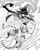 Final Fantasy IX Fanart by fpbarros