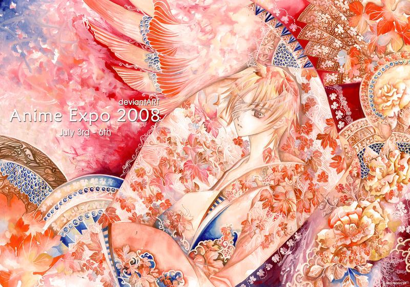 Anime Expo 2008 - Maple Rain by laverinne