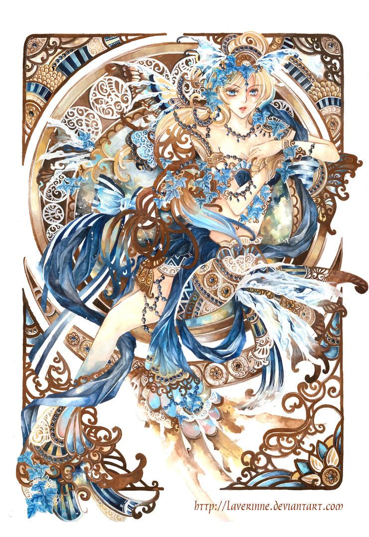 Blue Voice by laverinne