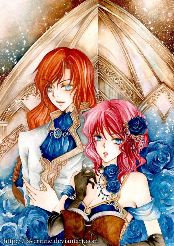 Charon and Fienix by laverinne