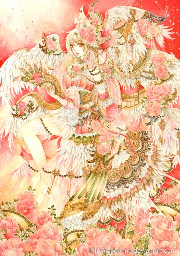 Spring Angel by laverinne