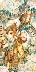 Klaus and Nikolaus by laverinne