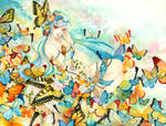 Butterfly Forest by laverinne