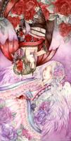 Izanami and  Aruka by laverinne