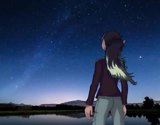 Azelle - Starry Night by Gibbo18