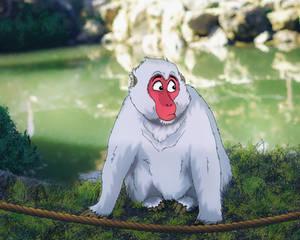 A Cheeky Arashiyama Inhabitant
