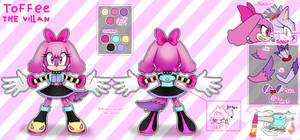 TOFFEE The villan reference by Kime-Cupcake