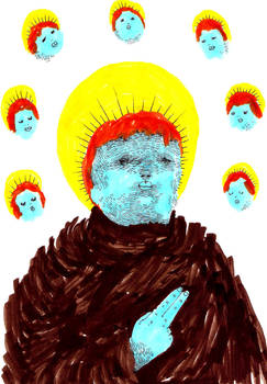 st benjamin in thought circle