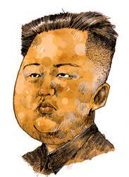 Kim Jong Un by NeverRider