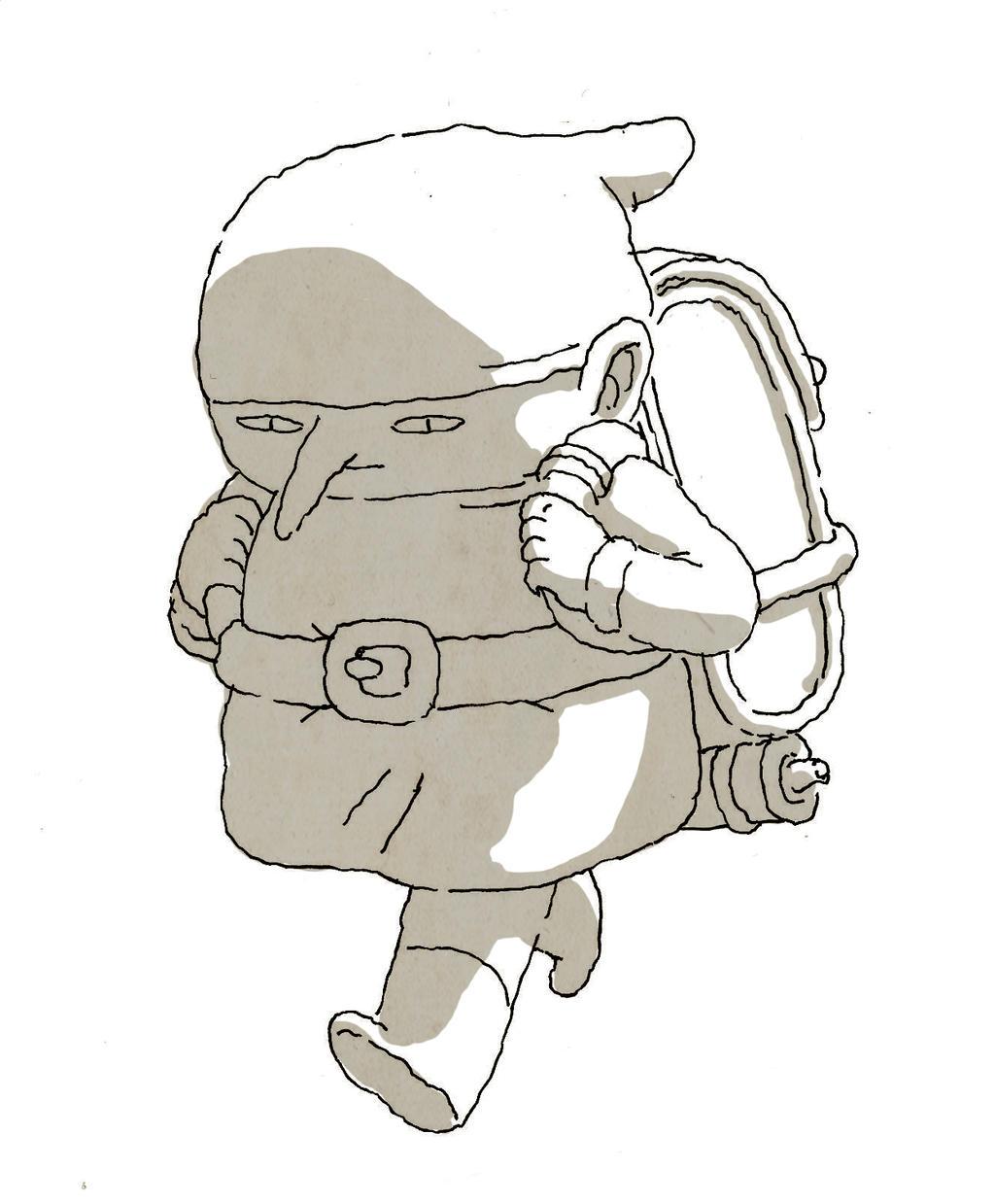 Gnome walk by NeverRider