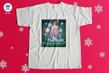 T-shirt Christmas by Shaolinyan89