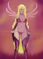 Blood Elf Priestess by Catilus