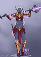 Zezra Shadewarden, Nightborne Spellblade by Catilus