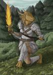 Loreena, Dragonborn Ranger