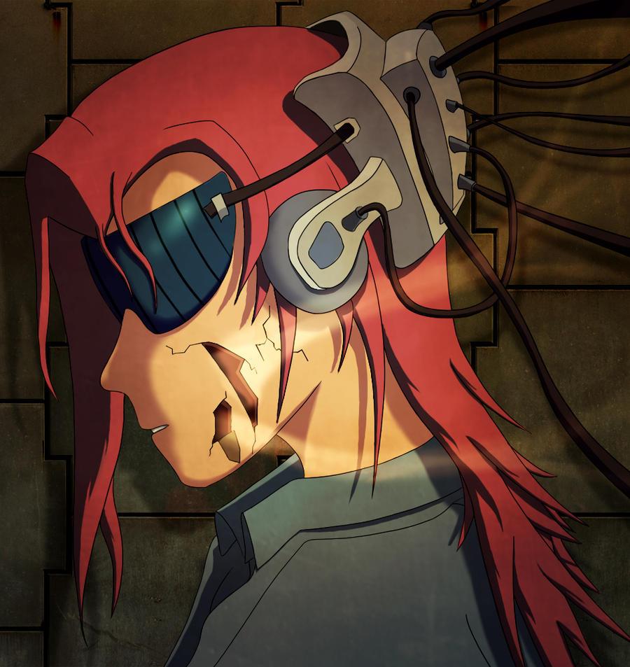 Cyborg Manga Character by Ullbors on DeviantArt
