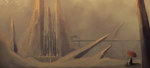 Speedpaint: Desert City
