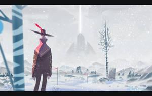 Snow Landscape by Ullbors