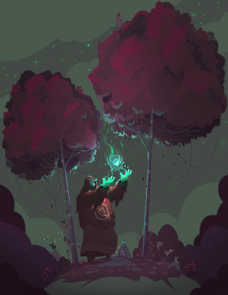 Druid by Ullbors